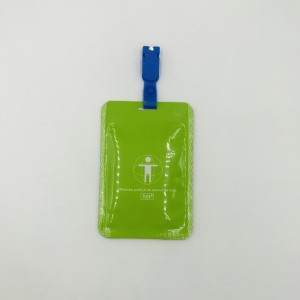 Safe disinfectant, non-toxic and harmless Chlorine card