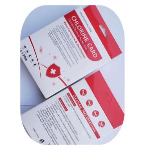 ClO2 Chlorine Dioxide Card work 90 day ClO2 Card