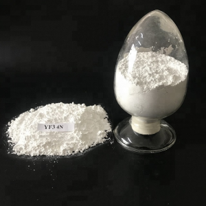 Rare Earth Yttrium Fluoride (YF3) with White Powder