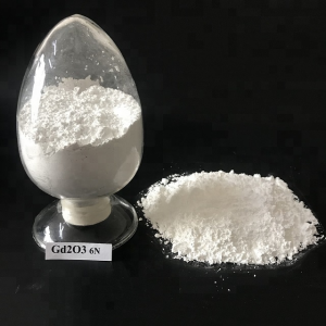 Nano Gadolinium Oxide 99%-99.9999% Rare Earth For Glass