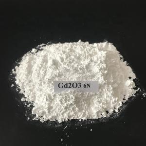Gd2O3 gadolinium Oxide High Purity 99.9% for Glass Colored Enamel Rare Earth CAS 12064-62-9