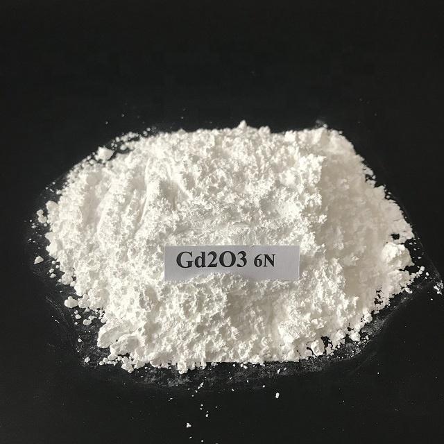 Gd2O3 gadolinium Oxide High Purity 99.9% for Glass Colored Enamel Rare Earth CAS 12064-62-9 Featured Image