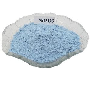 Neodymium Oxide Nd2O3 99.9% 99.99% Purple color oxide powder for Advanced Electrons Glass Ceramics