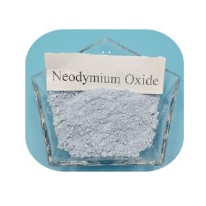 Fine powder Neodymium Oxide Nd2O3 purple color powder Rare Earth Oxide