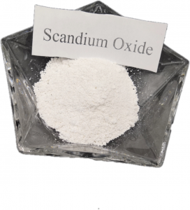 High Purity Scandium Oxide With The Best Price Rare Earth