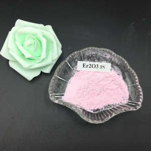High Purity Rare Earth Material Er2O3 Powder Price Erbium Oxide