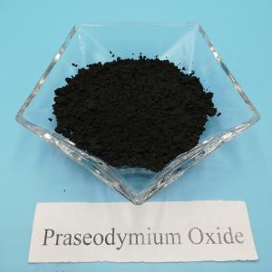 Rare earth chemicals Praseodymium Oxide Pr6O11 99.99% for ceramic and Glass