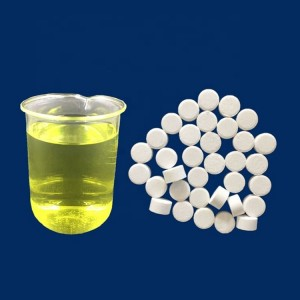 Hospital clean Effervescent Chlorine Tablet Water Purification Tablet Fungicide Clo2