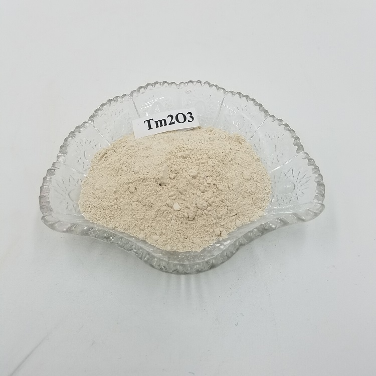 High purity Thulium oxide Tm2O3 CAS No. 12036-44-1 for X-ray usage Featured Image