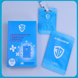 Chlorine Clean Portable Sterilization Card