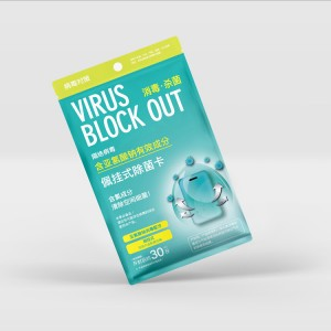 Wholesale Portable Clo2 Anti-virus Card Chlorine Dioxido De Cloro Anti Blocker