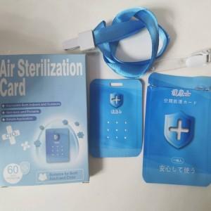 Hanging Virus-blocker Clo2 Virus Blocker Chlorine Dioxide Air Desinfector And Sterilizing Card