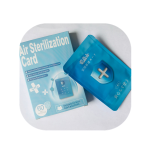 Virus blocker chlorine dioxide clo2 air freshener card