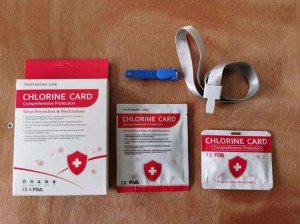 Clo2 Effiency Virus Killing Virus Badge Disinfection Chemical Clo2 Chlorine Dioxide Clo2 Card