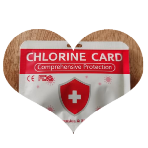 virus Health Care Chlorine Dioxide Tablet Air Sterilization Card·